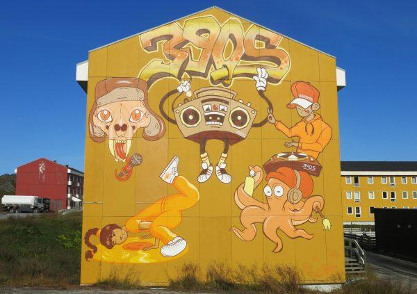 Graffiti Nuuk Cheeky