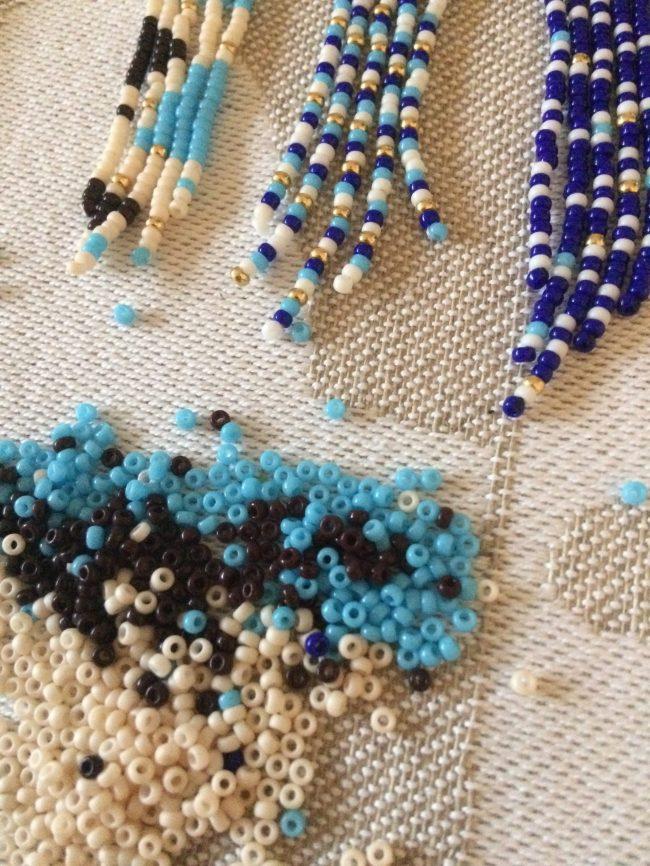 Perler og perleøreringe